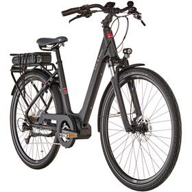 Vélo de trekking électrique Ortler Montana Eco- Pour femmes - Noir mat
